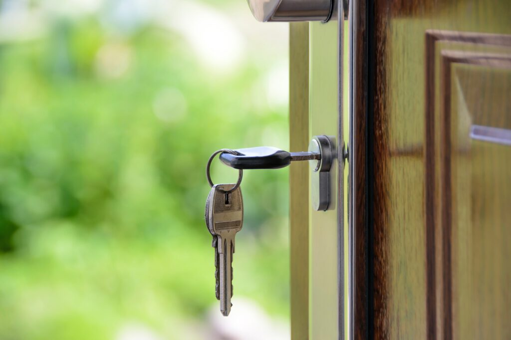 key-in-locked-door